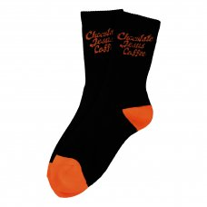 <img class='new_mark_img1' src='//img.shop-pro.jp/img/new/icons5.gif' style='border:none;display:inline;margin:0px;padding:0px;width:auto;' />COFFEE LOGO SOCKS (LONG) - BLACK