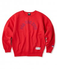 ARC LOGO CREW NECK - RED