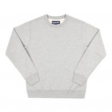 PREMIUM FRENCH TERRY CREWNECK (HEATHER GREY)