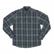 <img class='new_mark_img1' src='//img.shop-pro.jp/img/new/icons5.gif' style='border:none;display:inline;margin:0px;padding:0px;width:auto;' />LODGE FLANNEL SHIRT - NAVY