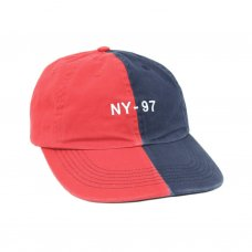 <img class='new_mark_img1' src='//img.shop-pro.jp/img/new/icons5.gif' style='border:none;display:inline;margin:0px;padding:0px;width:auto;' />NAUTICAL SPLIT POLO HAT - NAVY/RED