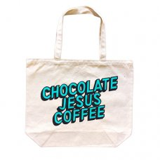 COFFEE LOGO TOTE - NATURAL