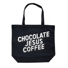 COFFEE LOGO TOTE - BLACK