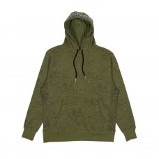 <img class='new_mark_img1' src='//img.shop-pro.jp/img/new/icons5.gif' style='border:none;display:inline;margin:0px;padding:0px;width:auto;' />NERM LEAF 3M REFLECTIVE HOODIE (OLIVE GREEN)