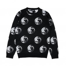<img class='new_mark_img1' src='//img.shop-pro.jp/img/new/icons5.gif' style='border:none;display:inline;margin:0px;padding:0px;width:auto;' />NERMAL YANG KNIT SWEATER (BLACK)