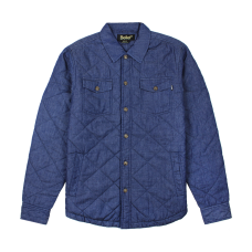 <img class='new_mark_img1' src='https://img.shop-pro.jp/img/new/icons20.gif' style='border:none;display:inline;margin:0px;padding:0px;width:auto;' />BROADWAY QUILTED OVERSHIRT - INDIGO