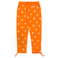 <img class='new_mark_img1' src='//img.shop-pro.jp/img/new/icons5.gif' style='border:none;display:inline;margin:0px;padding:0px;width:auto;' />ALL OVER DAISY WORDMARK SWEATPANTS - ORANGE
