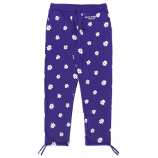 <img class='new_mark_img1' src='//img.shop-pro.jp/img/new/icons5.gif' style='border:none;display:inline;margin:0px;padding:0px;width:auto;' />ALL OVER DAISY WORDMARK SWEATPANTS - PURPLE