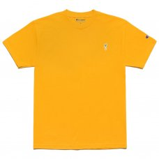 <img class='new_mark_img1' src='//img.shop-pro.jp/img/new/icons5.gif' style='border:none;display:inline;margin:0px;padding:0px;width:auto;' />CHAMPION CARROT CHEST HIT T-SHIRT - GOLD