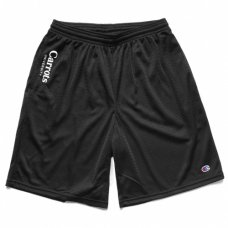 CHAMPION UNIVERSITY MESHSHORTS - BLACK