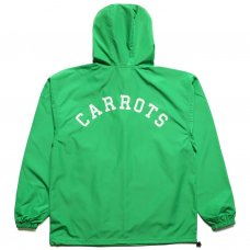 CARROTS UNIVERSITY ANORAK JACKET - GREEN