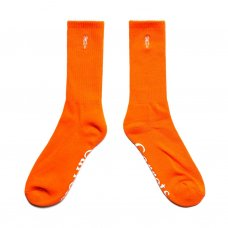 <img class='new_mark_img1' src='https://img.shop-pro.jp/img/new/icons20.gif' style='border:none;display:inline;margin:0px;padding:0px;width:auto;' />WORDMARK CREW SOCKS - ORANGE