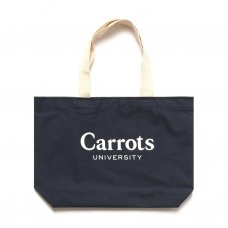 <img class='new_mark_img1' src='//img.shop-pro.jp/img/new/icons5.gif' style='border:none;display:inline;margin:0px;padding:0px;width:auto;' />CARROTS UNIVERSITY TOTE BAG - NAVY