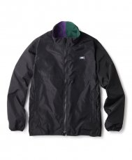 <img class='new_mark_img1' src='//img.shop-pro.jp/img/new/icons5.gif' style='border:none;display:inline;margin:0px;padding:0px;width:auto;' />COLOR BLOCKED REVERSIBLE JACKET - BLACK