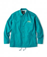 <img class='new_mark_img1' src='//img.shop-pro.jp/img/new/icons5.gif' style='border:none;display:inline;margin:0px;padding:0px;width:auto;' />WITH A GIRL COACH JACKET - GREEN
