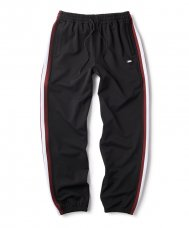<img class='new_mark_img1' src='//img.shop-pro.jp/img/new/icons5.gif' style='border:none;display:inline;margin:0px;padding:0px;width:auto;' />STRIPE RIB JERSEY PANT - BLACK