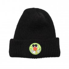 HIGH AS FUCK BEANIE - BLACK