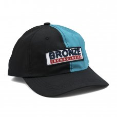 BRONZE TECHNOLOGIES PATCH HAT - BLACK/TEAL