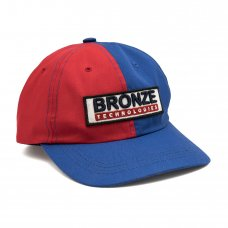 BRONZE TECHNOLOGIES PATCH HAT - RED/BLUE