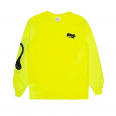 RIPNTAIL L/S TEE (SAFETY GREEN)