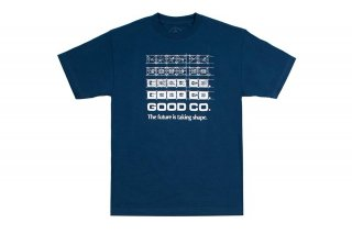 <img class='new_mark_img1' src='//img.shop-pro.jp/img/new/icons5.gif' style='border:none;display:inline;margin:0px;padding:0px;width:auto;' />BLUEPRINT TEE - HARBOR