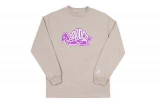 <img class='new_mark_img1' src='//img.shop-pro.jp/img/new/icons5.gif' style='border:none;display:inline;margin:0px;padding:0px;width:auto;' />RACE LONG SLEEVE TEE - SAND