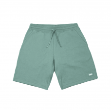 FRENCH TERRY SHORTS - WASHED GREEN