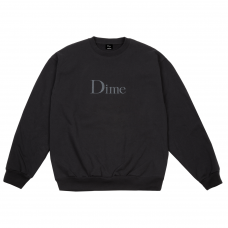 <img class='new_mark_img1' src='//img.shop-pro.jp/img/new/icons5.gif' style='border:none;display:inline;margin:0px;padding:0px;width:auto;' />DIME CLASSIC EMBROIDERED CREWNECK - BLACK