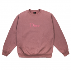 <img class='new_mark_img1' src='//img.shop-pro.jp/img/new/icons5.gif' style='border:none;display:inline;margin:0px;padding:0px;width:auto;' />DIME CLASSIC EMBROIDERED CREWNECK - FUCHSIA