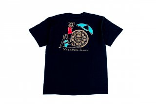 <img class='new_mark_img1' src='//img.shop-pro.jp/img/new/icons5.gif' style='border:none;display:inline;margin:0px;padding:0px;width:auto;' />(KIDS)CHOCOLATE JESUS 8th ANNIVERSARY TEE - OREO TEE (BLACK)