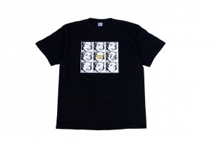 (KIDS)CHOCOLATE JESUS 8th ANNIVERSARY TEE - NINE FACES TEE (BLACK)<img class='new_mark_img2' src='//img.shop-pro.jp/img/new/icons5.gif' style='border:none;display:inline;margin:0px;padding:0px;width:auto;' />