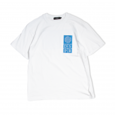 DSPR MAGIC CIRCLE  TEE (WHITE)