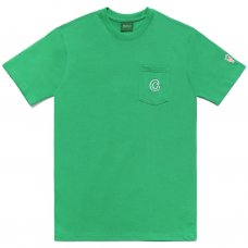 C PATCH POCKET TEE - GREEN