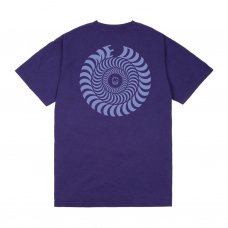 <img class='new_mark_img1' src='//img.shop-pro.jp/img/new/icons5.gif' style='border:none;display:inline;margin:0px;padding:0px;width:auto;' />DIME/SPITFIRE SWIRL T-SHIRT - PURPLE