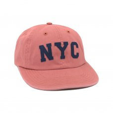 NYC POLO HAT (NAUTICAL RED)