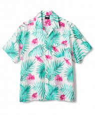 <img class='new_mark_img1' src='//img.shop-pro.jp/img/new/icons5.gif' style='border:none;display:inline;margin:0px;padding:0px;width:auto;' />FLORAL RAYON SHIRT - WHITE