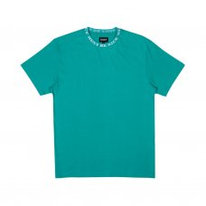 <img class='new_mark_img1' src='//img.shop-pro.jp/img/new/icons5.gif' style='border:none;display:inline;margin:0px;padding:0px;width:auto;' />MBN JACQUARD RIB TEE (TEAL)