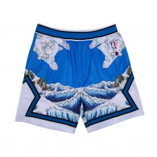 <img class='new_mark_img1' src='//img.shop-pro.jp/img/new/icons5.gif' style='border:none;display:inline;margin:0px;padding:0px;width:auto;' />GREAT WAVE MESH BASKETBALL SHORTS (BLUE)