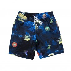 SCUBA NERM SWIM SHORTS (BLACK)
