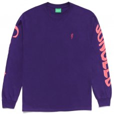 <img class='new_mark_img1' src='https://img.shop-pro.jp/img/new/icons5.gif' style='border:none;display:inline;margin:0px;padding:0px;width:auto;' />LOGO LONGSLEEVE - PURPLE