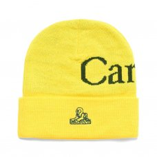<img class='new_mark_img1' src='https://img.shop-pro.jp/img/new/icons5.gif' style='border:none;display:inline;margin:0px;padding:0px;width:auto;' />LOGO BEANIE - YELLOW