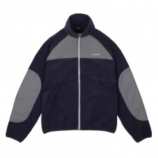 <img class='new_mark_img1' src='//img.shop-pro.jp/img/new/icons5.gif' style='border:none;display:inline;margin:0px;padding:0px;width:auto;' />POLAR FLEECE TRACK JACKET - NAVY/CHARCOAL