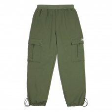 <img class='new_mark_img1' src='//img.shop-pro.jp/img/new/icons5.gif' style='border:none;display:inline;margin:0px;padding:0px;width:auto;' />DIME CARGO SWEAT PANTS - MILITARY GREEN