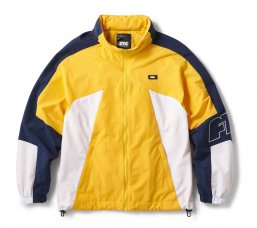 <img class='new_mark_img1' src='https://img.shop-pro.jp/img/new/icons5.gif' style='border:none;display:inline;margin:0px;padding:0px;width:auto;' />NYLON TRACK JACKET - YELLOW