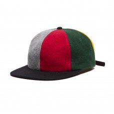 LOVERS LEFT HAT - GREY/RED/YELLOW/BLUE