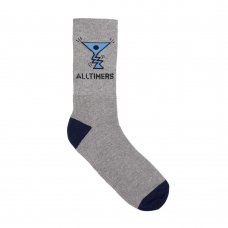 <img class='new_mark_img1' src='https://img.shop-pro.jp/img/new/icons5.gif' style='border:none;display:inline;margin:0px;padding:0px;width:auto;' />ACTION LOGO SOCKS - GREY/NAVY