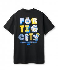<img class='new_mark_img1' src='https://img.shop-pro.jp/img/new/icons5.gif' style='border:none;display:inline;margin:0px;padding:0px;width:auto;' />FOR THE CITY MB TEE - BLACK
