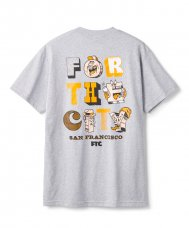 <img class='new_mark_img1' src='https://img.shop-pro.jp/img/new/icons5.gif' style='border:none;display:inline;margin:0px;padding:0px;width:auto;' />FOR THE CITY MB TEE - ATH HEATHER