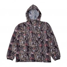 NERM & JERM PACKABLE ANORAK JACKET - TREE CAMO