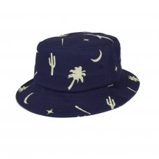 <img class='new_mark_img1' src='https://img.shop-pro.jp/img/new/icons5.gif' style='border:none;display:inline;margin:0px;padding:0px;width:auto;' />PREHISTORIC BUCKET HAT - NAVY